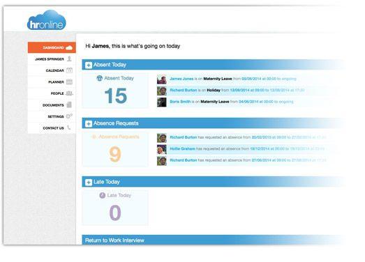 Online Hr Software Cloud Human Resource Management