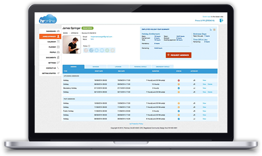 Online Hr Systems Features Amp Benefits Hronline