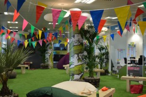 The Garden at Festival Time at HRonline